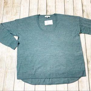 Madewell | Heather Spruce Sweater | NWT